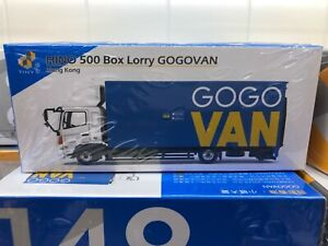 1-64-TINY-Hong-Kong-CAR-148-HINO-500-Box-Lorry-Gogo-van-Transport-Truck-ATC64583