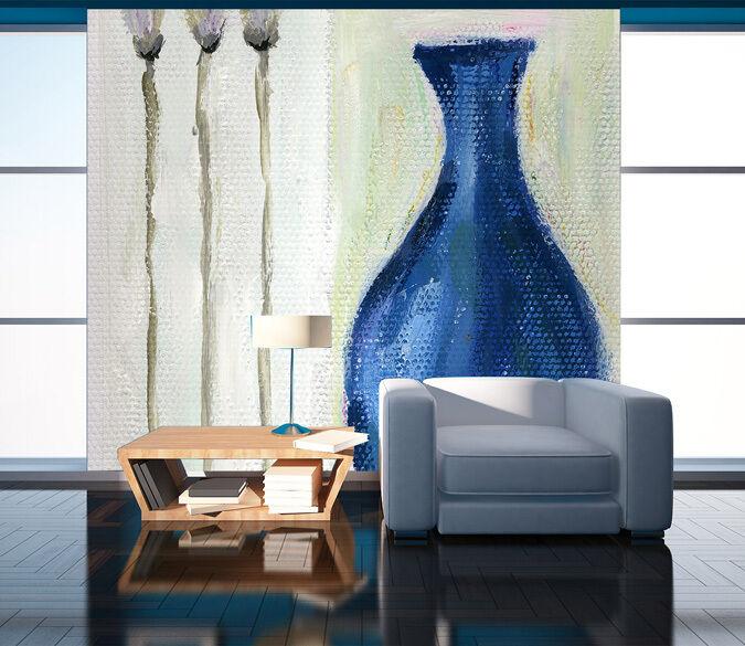 3D Vase painting 2222 Paper Wall Print Decal Wall Wall Murals AJ WALLPAPER GB