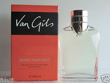 Van Gils Basic Instinct For Men EDT Nat Spray 75ml - 2.5 Oz NIB 1st Edition