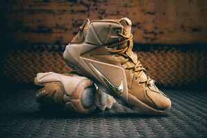07029fc6954 Nike LeBron 12 XII EXT Wheat Size 13. 744287-700. Tan cork what the ...