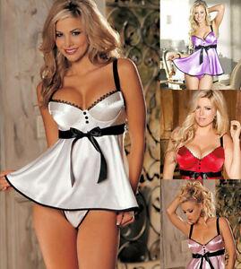 Sexy silk underwear