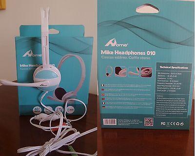 Instancabile Cuffie Microfono Skype Videoconferenza Dj X Iphone Samsung Videogiochi Audio Mp3 Né Troppo Duro Né Troppo Morbido