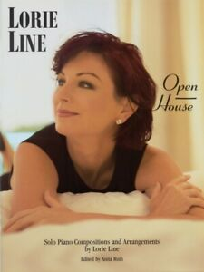 Lorie Line Open House Sheet Music Solo Piano Compositions Book NEW 000306582