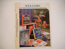 Reader's Digest Record Order Catalog Readers Digest Collectible-1967