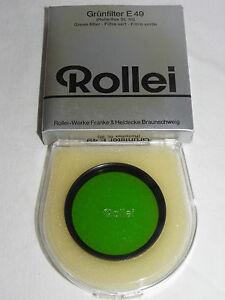 Rollei-Gruenfilter-E-49-fuer-Rolleiflex-SL-35-in-OVP