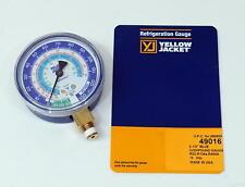 Yellow Jacket 49016 Blue Manifold Low Pressure Gauge 2 12 R22 R134a R404a