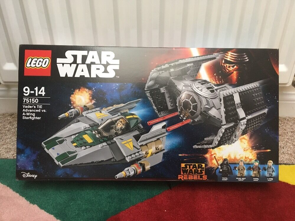 Lego Star Wars 75150 - Vader's Tie & A-Wing - New - Sealed BNIB