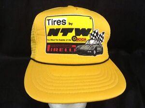 Tires By Pirelli Ntw Snapback Hat Scca Sports Car Club Of America