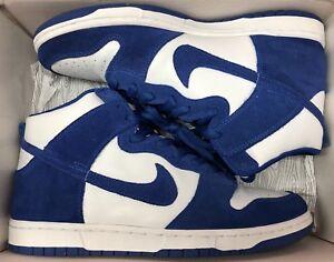 sale retailer 648f3 b9310 Image is loading Nike-Dunk-High-Pro-SB-Kentucky-Wildcats-White-