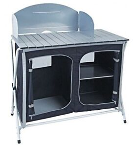 image is loading royal easy up lightweight camping kitchen stand unit - Camping Kitchen