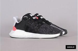 cba35d0d5 Adidas EQT SUPPORT 93 17 Core Black Turbo Red Size 11. BB1234 Ultra ...