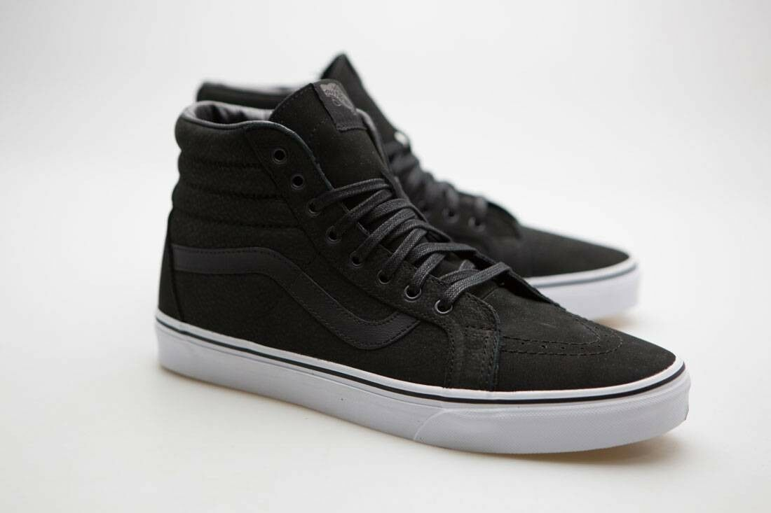 Vans Men SK8-Hi Reissue - Leather black true white VN0XSBII7