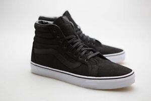 1f57508187 Vans Men SK8-Hi Reissue - Leather black true white VN0XSBII7