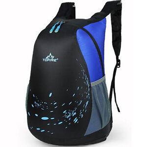 9ec4846028d6 Men Women Backpack Bag Casual Fold Travel Outdoor Sports Cycling ...