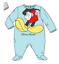Baby-Boys-Girls-Character-100-Cotton-Sleepsuit-Babygrow-Pyjamas-Minnie-Mickey thumbnail 5
