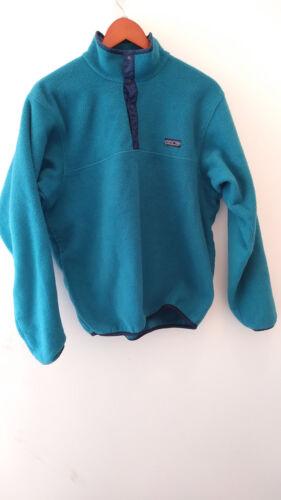 Teal Patagonia Snap-T Fleece USA Large