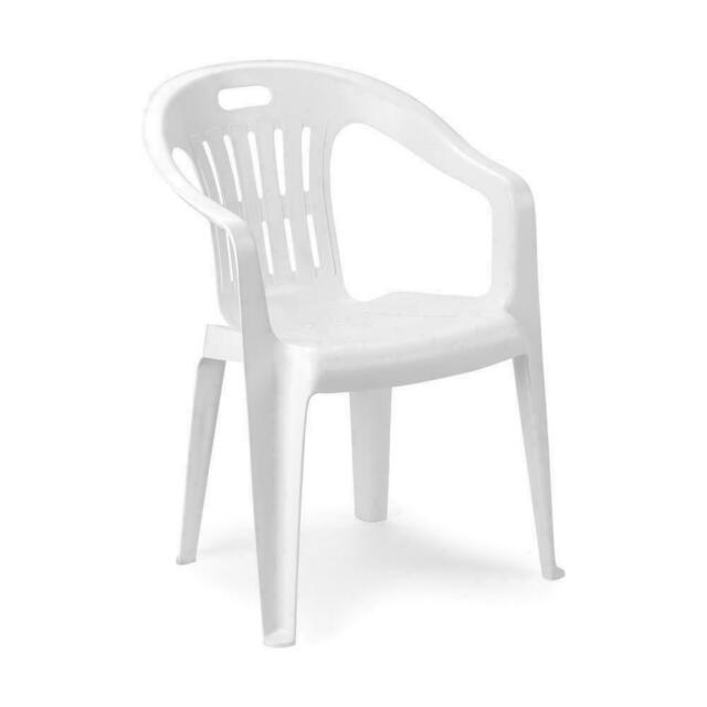 Sedie Plastica Da Giardino.Sedia In Plastica Da Giardino Impilabile Piona Verde Ipae Progarden