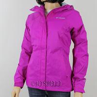 "New Womens Columbia ""Arcadia""Omni-Tech Waterproof Rain Wind Jacket 2X"
