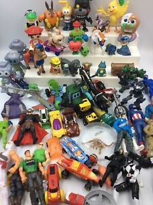 Boy Toys Small Lot Of Mixed Collectibles Action Figures Mcdonald Toys Etc Ebay