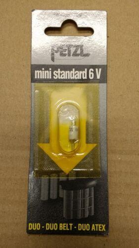 Duo Belt Duo Atex Petzl mini standard 6v bulb