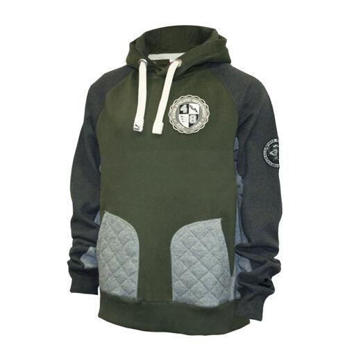 PUMA Uni Leichtathletik Hoodie Herren Pullover Schweiß Pullover grün 566956 12 P