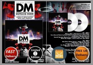DEPECHE-MODE-The-Many-Faces-Of-Depeche-Mode-White-Vinyl-VINYL-LP-Ltd-Edn-NEW