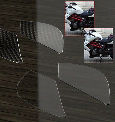 New Gel Fuel//Gas Tank Pad Protector Decal//Sticker Chrome Carbon Look For Benelli