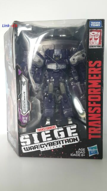 Transformers War Of Cybertron -- Shockwave + Direct Hit and Punch ( Neuf / New )