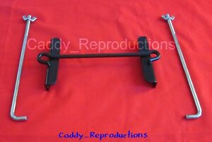 1958 58 Cadillac Battery Tray Hold Down W/ Bolts (Wide)