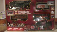 Black Stallion Spirit Of Steam 4 Car Train Set Infra-Red Remote By Goldlok  tr82