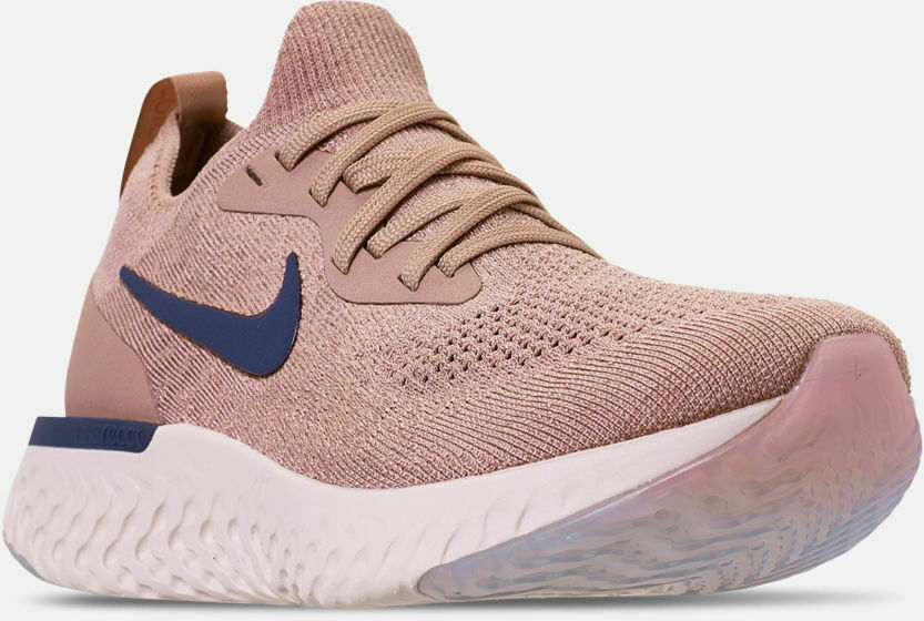 Nike Epic React Flyknit Running shoes Diffused Taupe   bluee Sz 15 AQ0067 201