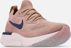 super słodki zamówienie online style mody Details about Nike Epic React Flyknit Running Shoes Diffused Taupe / Blue  Sz 12 AQ0067 201