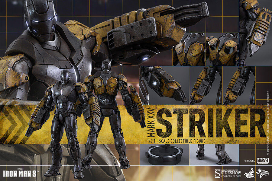 Hot Toys Iron Man 3 MARK XXV (25) STRIKER 12