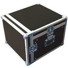 "10/12 HE 19"" Kombi-Case PROFI Winkelrack L-Rack DJ-Case DJ-Workstation Mixercase"