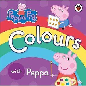 Peppa Pig Colours By Penguin Books Ltd Board Book 2015