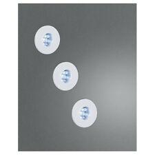 Massive 3ER LED Einbauset Aufbauset 59023/31/10 Spot Einbauspots 3x je 6 LEds