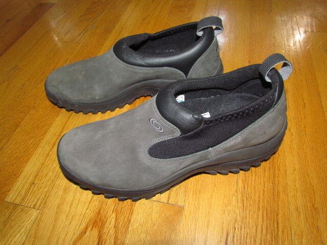SALOMON Snow Clogs  Smooth Leather Men's Size USA 8    2