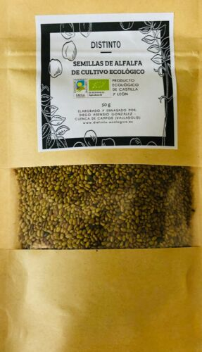Medicago sativa semilla de alfalfa ecologica 2000 semillas
