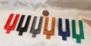 192 x Kunststoff Keile Ausgleichskeile Montage Laminat Parkett Set Fliese 1-6 mm