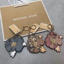 bb0d578119ff item 1 MK Handbag Charm Michael Kors Hang Tag Flower Key Fob RRP £60 BLUE  PINK BROWN -MK Handbag Charm Michael Kors Hang Tag Flower Key Fob RRP £60  BLUE ...