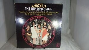 The Age of Aquarius The 5th Dimension Stereo SCS-92005 LP Gatefold VG+ cVG+