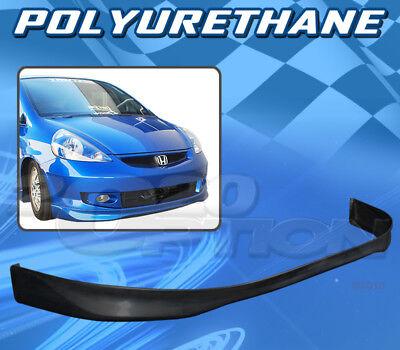 TC Sportline BO-HOFI071251 T-R Style PU Polyurethane Front Bumper Lip Spoiler for 2007-2008 HONDA FIT
