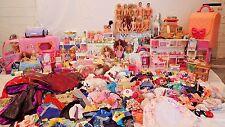 Huge Lot Barbie Dolls, Clothes Accessories 891+ pcs