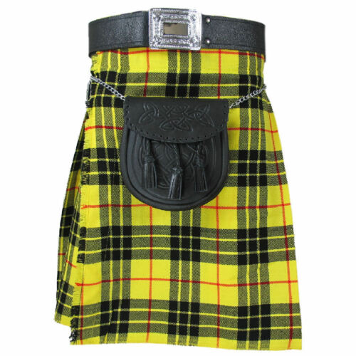 Scottish Onstyle Active Men Utility Sports Traditional MACLEOD tartan kilt