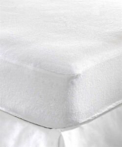Terry-Towel-Waterproof-Fitted-Sheet-Mattress-Protector-Luxury-Bed-Pillow-Cover
