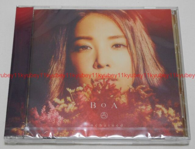 New BoA Unchained First Limited Edition CD DVD Japan 4988064794409