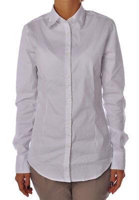 Bianco Camicie Donna Camicia Aglini 946518c183529Ebay Ygfb67y