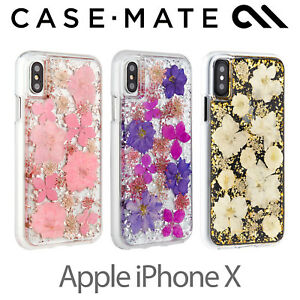 premium selection a963e 3304f Details about NEW Case-Mate Karat Petals Case for Apple iPhone X - Retail  Box 100% Original