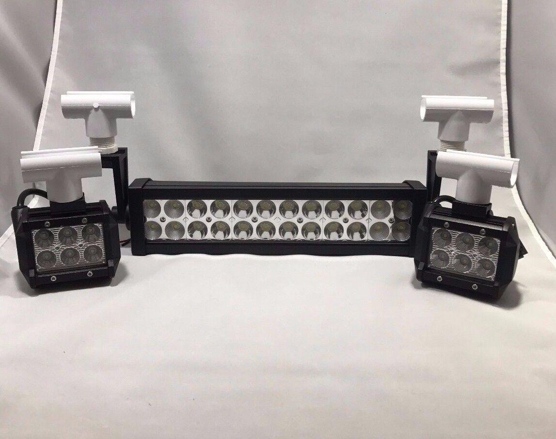 Flet Trombones Lumière Set Snap PVC Head DEL 18 72 W 5280 LM 12 V (bateau)