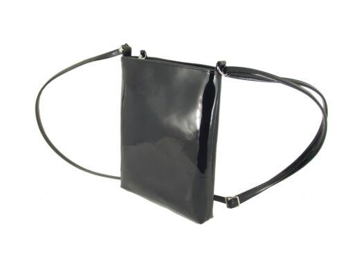 Schulter Handtasche Kunstlackleder Loni Umhänge Kompakt Größe